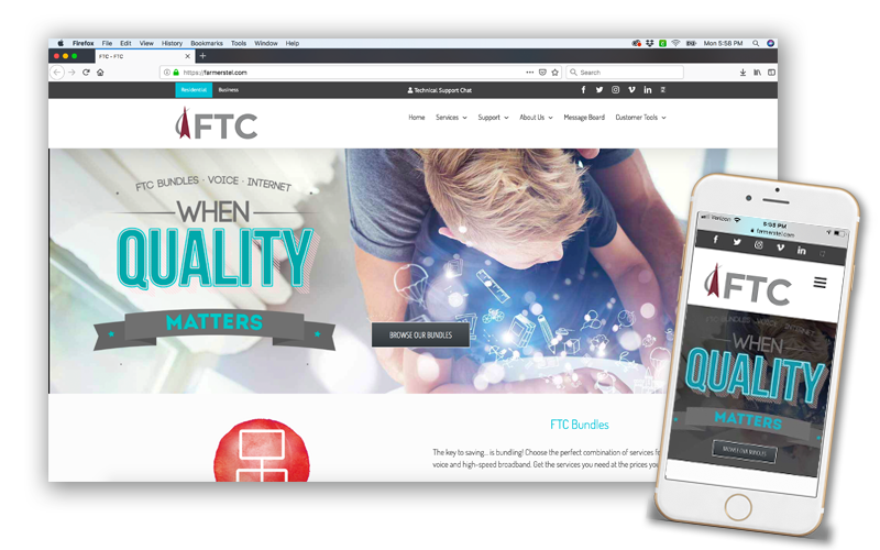 FTC website design