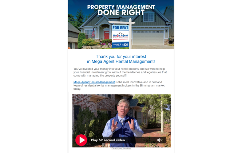 Real Estate Email Marketing Design
