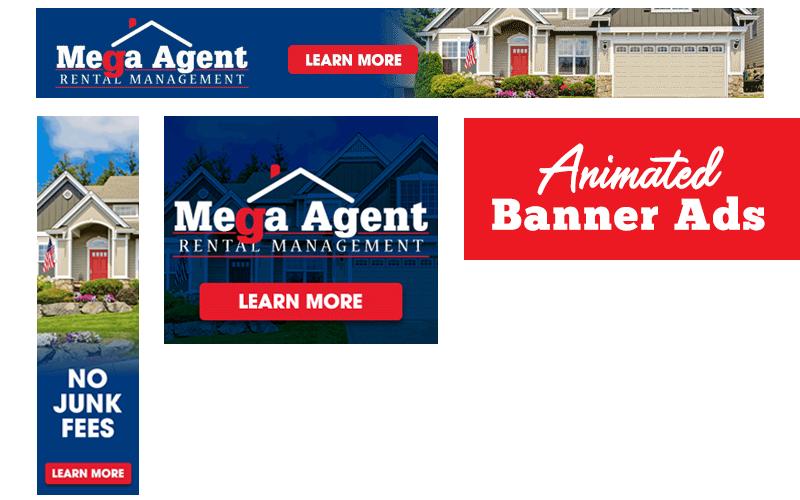 Mega Agent Online Banner Ads