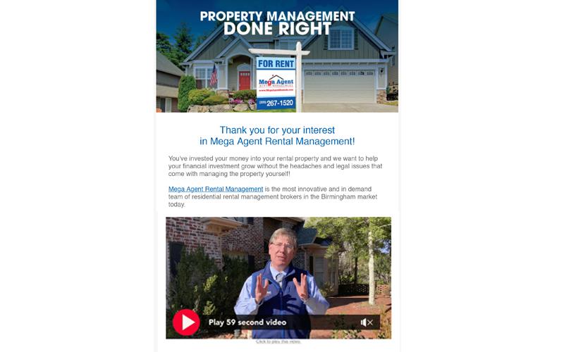 Real Estate Email Marketing Design