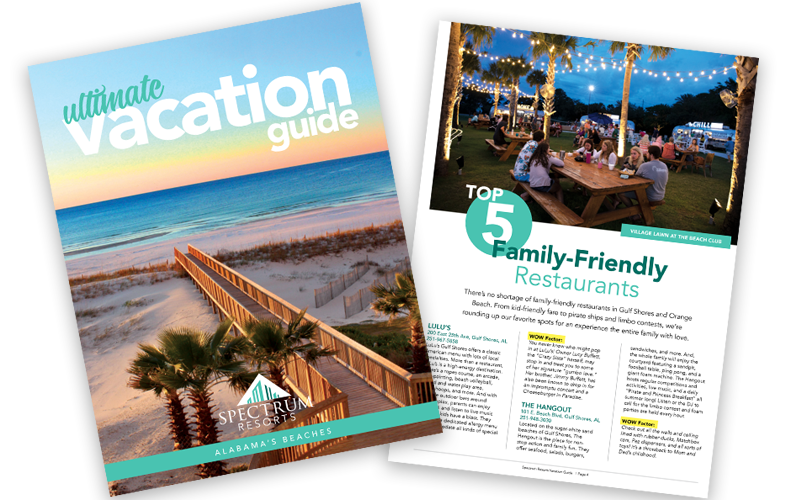 Spectrum Resorts Vacation Guide