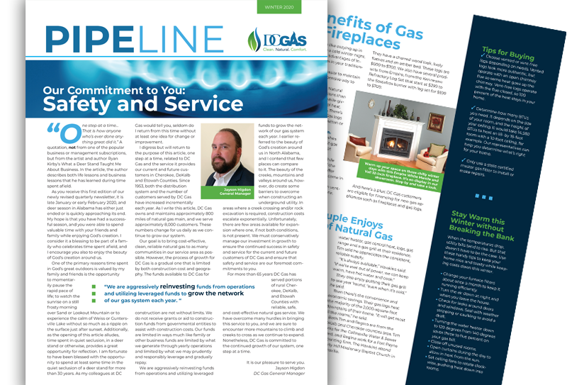 DC Gas Newsletter